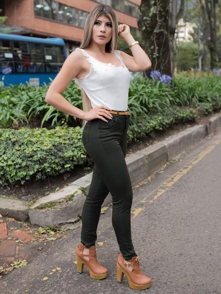 Jean mujer, Natural